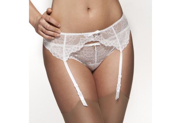 Gossard Lace Strumpfgürtel White XS