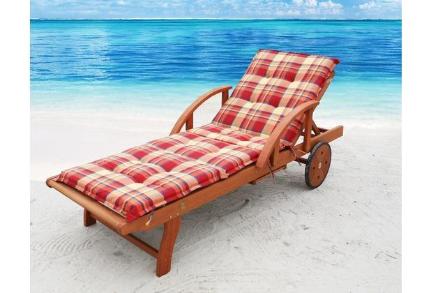 grasekamp auflage sommerfrisch f r gartenliege liegestuhl. Black Bedroom Furniture Sets. Home Design Ideas