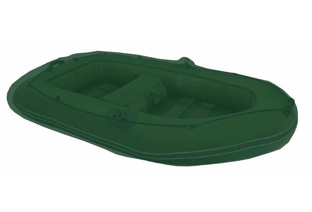 Grasekamp Boot Abdeckung 305x140cm Plane Schutzhaube Schutzplane Gummiboot Olivgrün