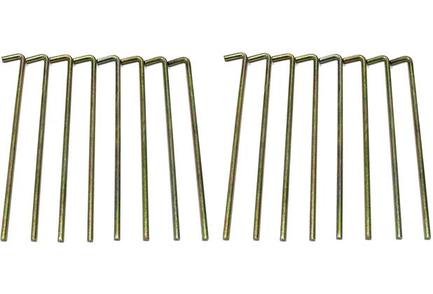Grasekamp Erdnägel Set 16 Stück