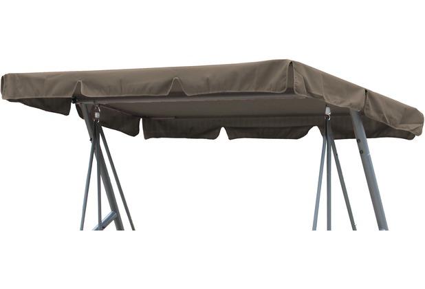 Grasekamp Ersatzdach Universal Hollywoodschaukel  Taupe Ersatz-Bezug Sonnendach Dachplane Taupe