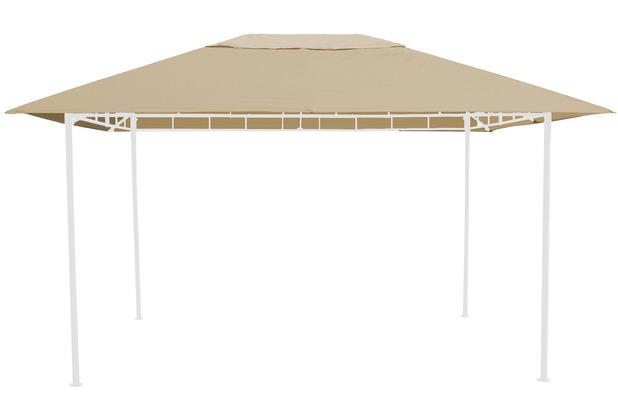 Grasekamp Ersatzdach zu Gartenpavillon Antik  Pavillon Partyzelt 3x4m Beige Beige