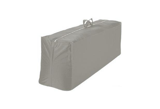 Grasekamp Kissentasche Schutztasche Tragetasche für 4 Auflagen Kissen Silbergrau