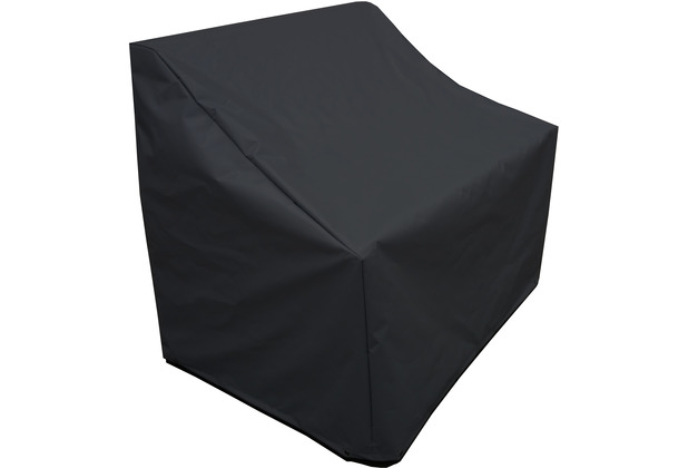 Grasekamp Schutzhülle Plane zu Bahia Lounge Sofa  Polyester Schwarz wasserabweisend Schwarz