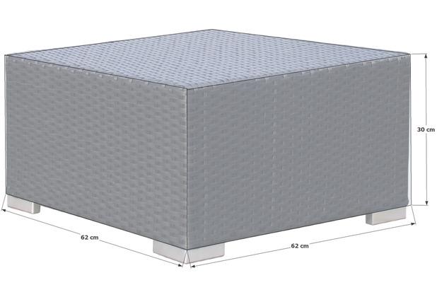 Grasekamp Schutzhülle zu Pepe Lounge Hocker Premium Grau