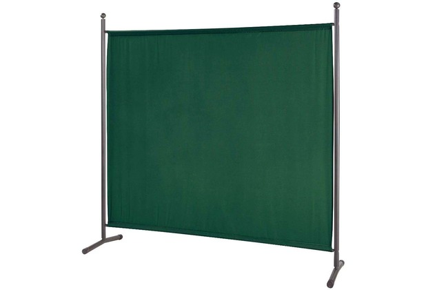 Grasekamp Stellwand 180 x 180 cm Grün Paravent  Raumteiler Trennwand Sichtschutz Grün