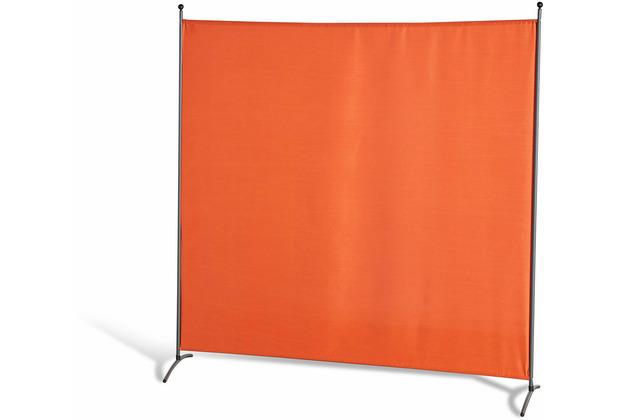 Grasekamp Stellwand 180x180 cm - Terra - Paravent  Raumteiler Trennwand Sichtschutz Terrakotta