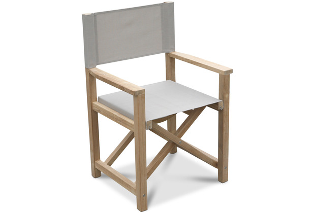 Grasekamp Teak Sessel Stuhl Gartenstühle Klappstuhl Teak Holz Gartenmöbel Natur