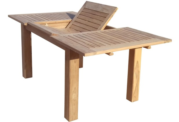 grasekamp teak tisch 120 180x90 cm ausziehbar esstisch gartenm bel gartentisch h ebay. Black Bedroom Furniture Sets. Home Design Ideas