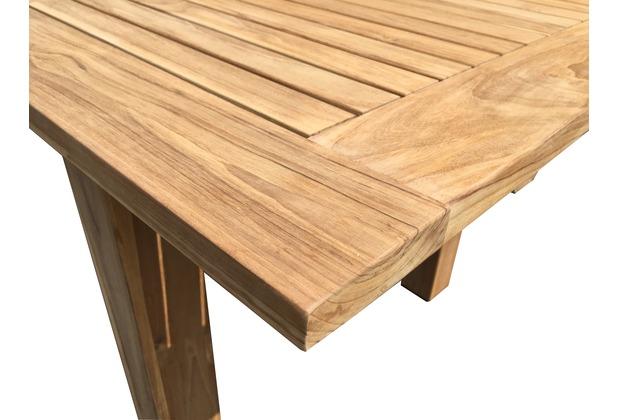 Grasekamp Teak Tisch 160 220x100 Cm Ausziehbar Esstisch Gartenmobel