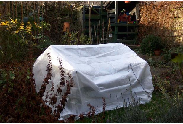 Grasekamp Universalplane Abdeckplane Abdeckung  Schutzhülle 300x200cm Weiß Weiß