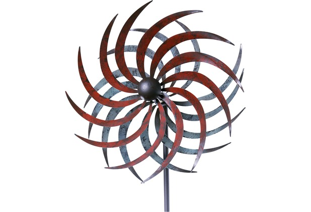 grasekamp windrad garten mallorca metall windm hle windfahne windspiel bunt 4001827800008 ebay. Black Bedroom Furniture Sets. Home Design Ideas