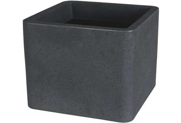 Greemotion Pflanzkübel Lea, schwarz, ca. 39 x 39 cm