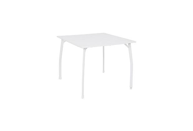 Greemotion Tisch Toulouse, 90 x 74 x 90 cm, weiß
