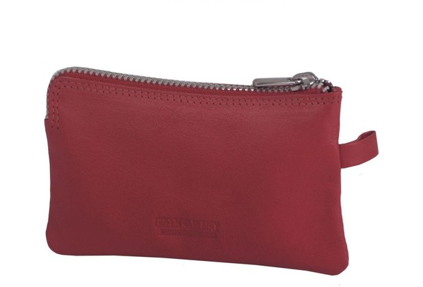 Greenburry Spongy Schlüsseletui Leder 11,5 cm red