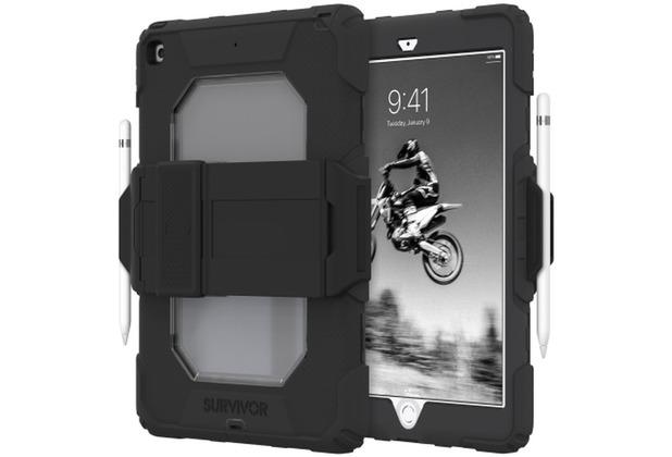 Griffin Survivor All-Terrain Case, Apple iPad 10,2 (2019), schwarz, GIPD-016-BLK