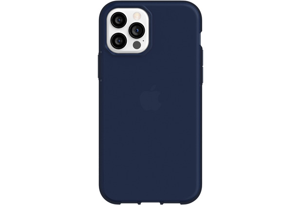 Griffin Survivor Clear Case, Apple iPhone 12/12 Pro, navy, GIP-051-NVY