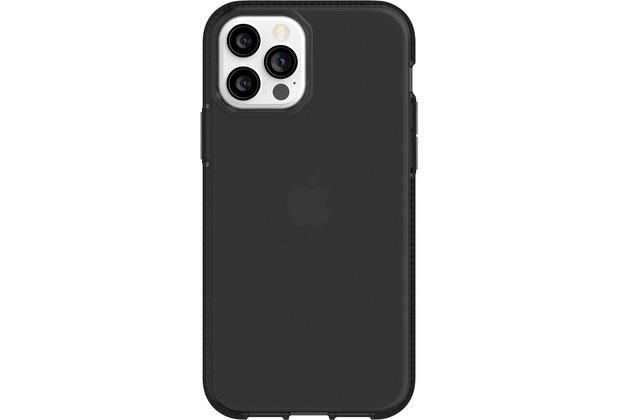 Griffin Survivor Clear Case, Apple iPhone 12/12 Pro, schwarz, GIP-051-BLK