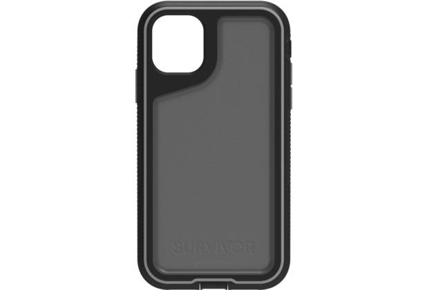 Griffin Survivor Extreme Case, Apple iPhone 11, schwarz/grau/smoke, GIP-032-BKG