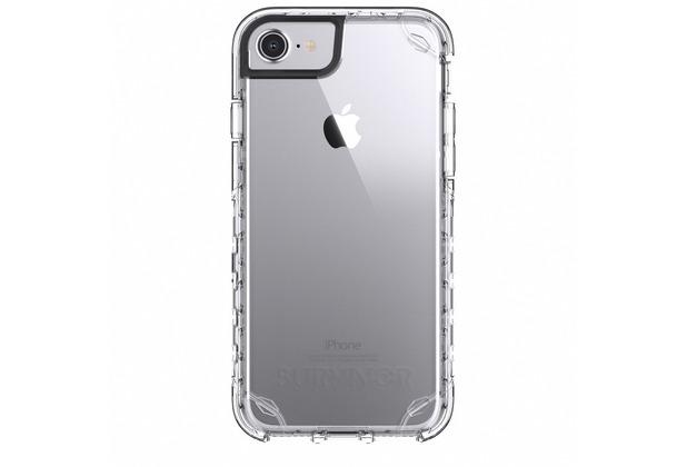 Griffin Survivor Journey Case, Apple iPhone 8/7/6S, transparent