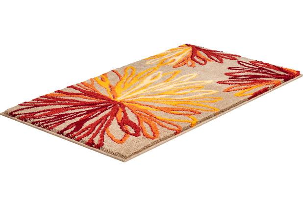 GRUND Badteppich ART orange/beige 60x100 cm