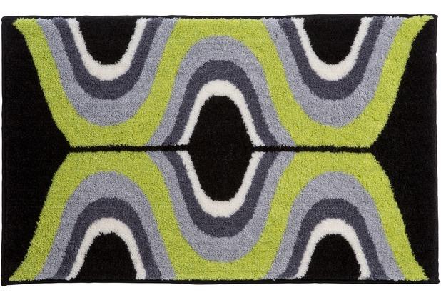 GRUND Badteppich KARIM RASHID Concept 18 223 grün 60 cm x 100 cm