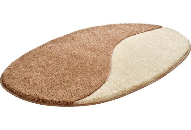 GRUND Badteppich ORBIS beige 75x120 cm