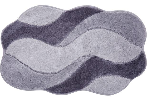 GRUND CARMEN Badteppich grau 60 x 100 cm