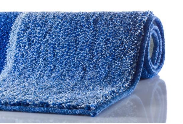 GRUND DIVISO Badteppich Blau 47 x 50 cm Deckelbezug