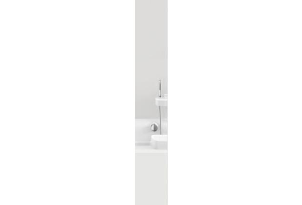 GRUND Duschvorhang Impressa grau 120x200 cm