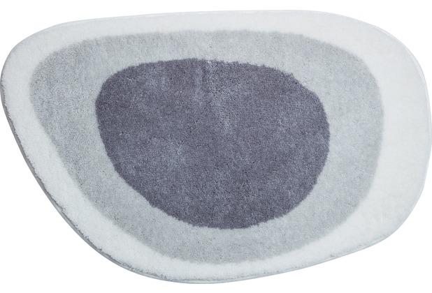 GRUND LAKE Badteppich silbergrau 50x75 cm
