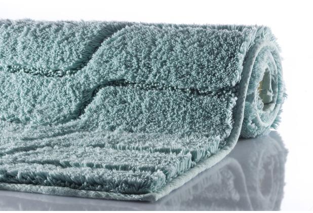 GRUND VOGUE Badteppich  Salbei 60 x 60 cm WC-Vorleger ohne Ausschnitt