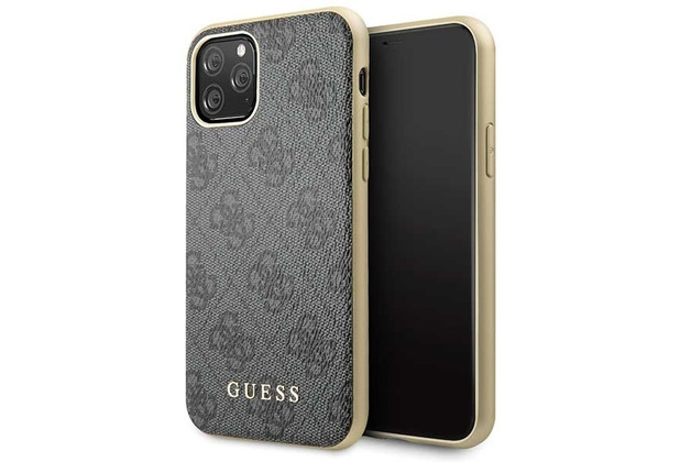Guess Charms - 4G - Apple iPhone 11 - Grau - Schutzhülle - Hard cover - Case