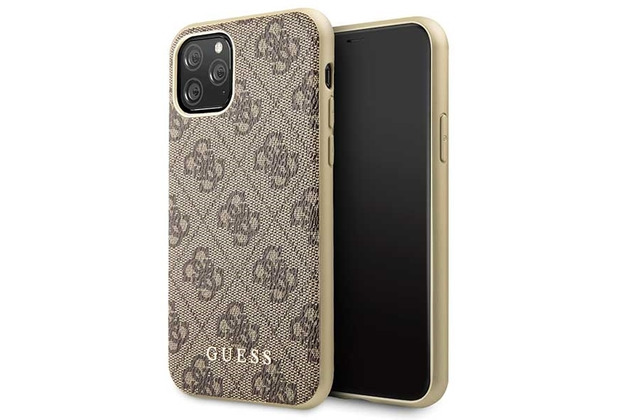 Guess Charms - 4G - Apple iPhone 11 Pro - Braun - Hard cover