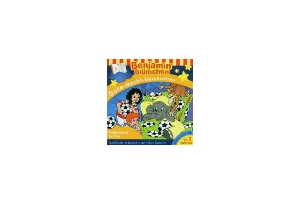 Benjamin Blümchen. Gute-Nacht-Geschichten 09: Fußballspaß im Zoo Lesung Hörbuch