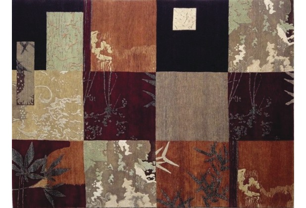 Handknüpfteppich LOMBARD Painting 90.1 gemustert 120 cm x 180 cm