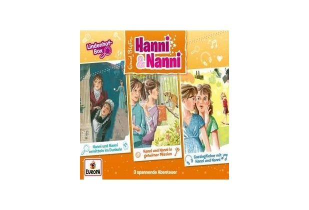 Hanni und Nanni Box 15: Lindenhofbox Hörbuch