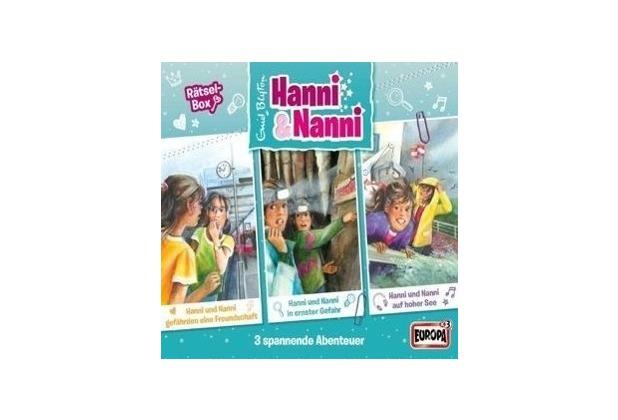 Hanni und Nanni Box 11: Rätselbox Hörbuch