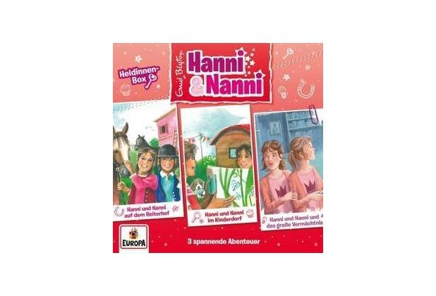 Hanni und Nanni Box 14: Heldinnin-Box Hörbuch