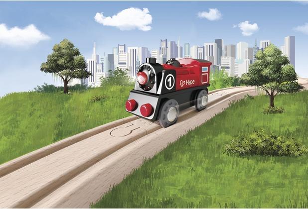 Hape Railway Batteriebetriebene Lokomotive Nr. 1