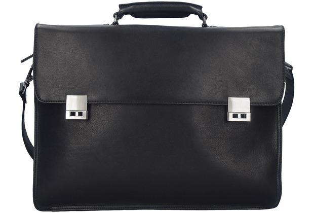 Harold\'s Country Aktentasche L 41 cm Laptopfach schwarz