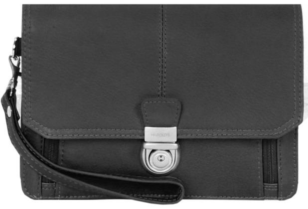 Harold\'s Country Herrentasche Leder 22 cm schwarz