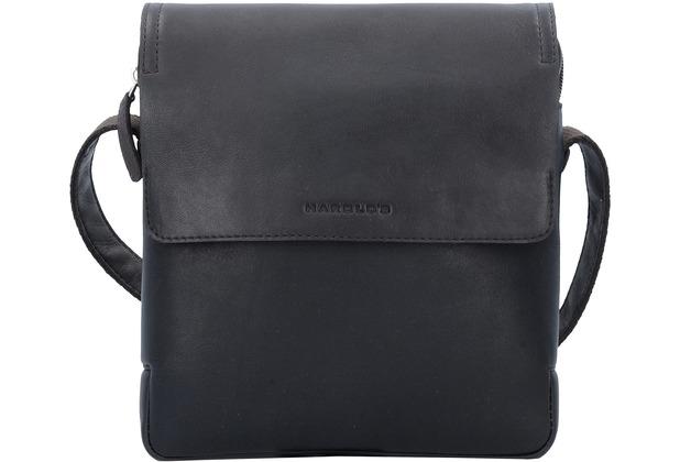 Harold\'s Crossbag Umhängetasche Leder 22 cm braun