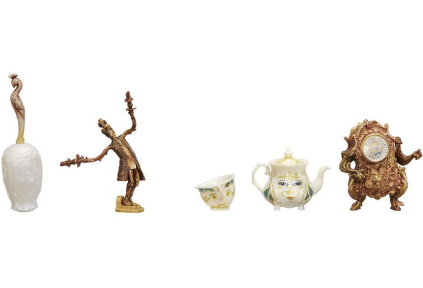 Hasbro Die Schöne und das Biest Little Kingdom Die verzauberten Freunde