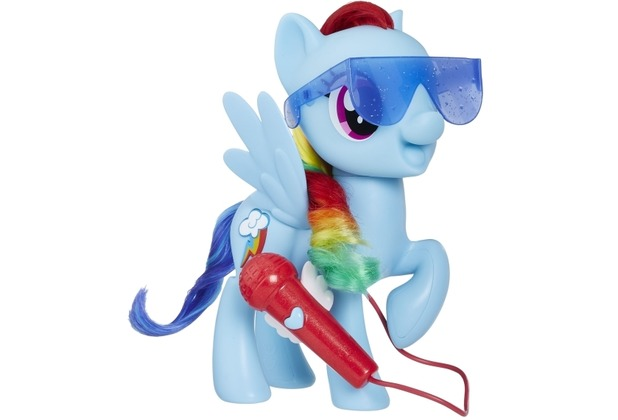 Hasbro My Little Pony Großartig singende Rainbow Dash