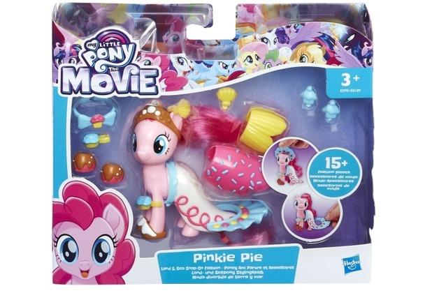 Hasbro My Little Pony Movie Land- und Seepony Stylingspaß