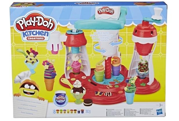 Hasbro Play-Doh Super Eiscreme Maschine