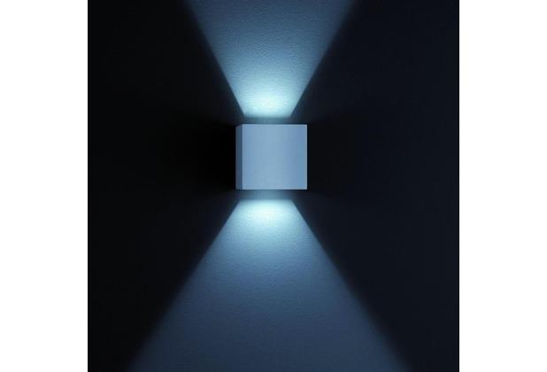 Helestra LED-Wandleuchte 6W SIRI 3000K A+ 380lm si