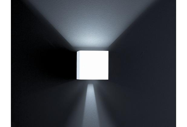 Helestra LED-Wandleuchte 6W SIRI 3000K A+ 380lm ws