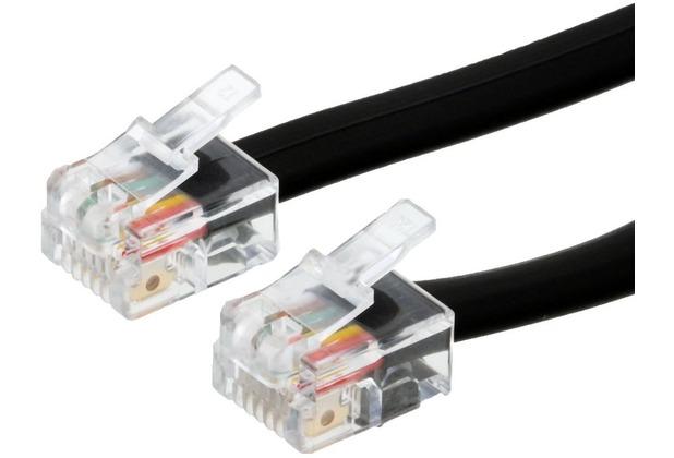 Helos Anschlusskabel 6P6C/6P6C, 6adr., 3 m,